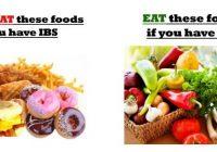 IBS diet list